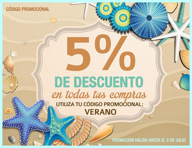 5% de Descuento en todas las compras