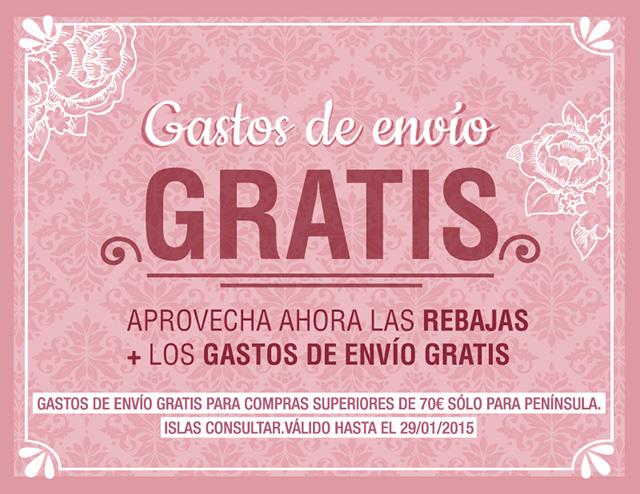 REBAJAS + GASTOS DE ENVÍO GRATIS