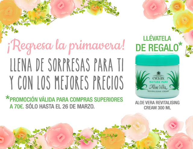 ¡Regresa la Primavera!