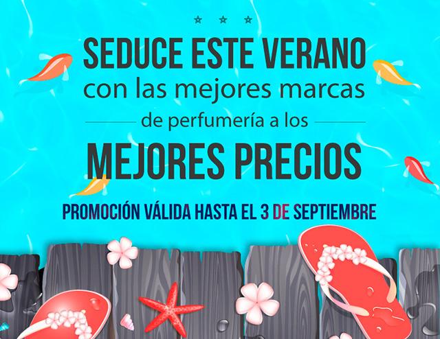 Seduce este verano con las mejores marcas de Perfumería al MEJOR PRECIO