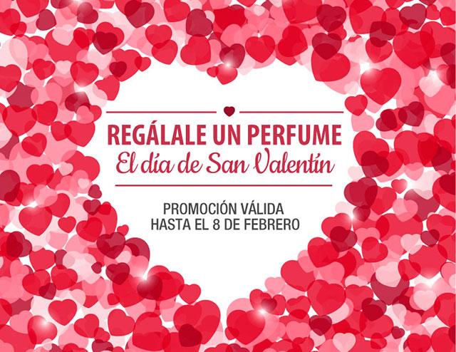Regálale un Perfume por San Valentín