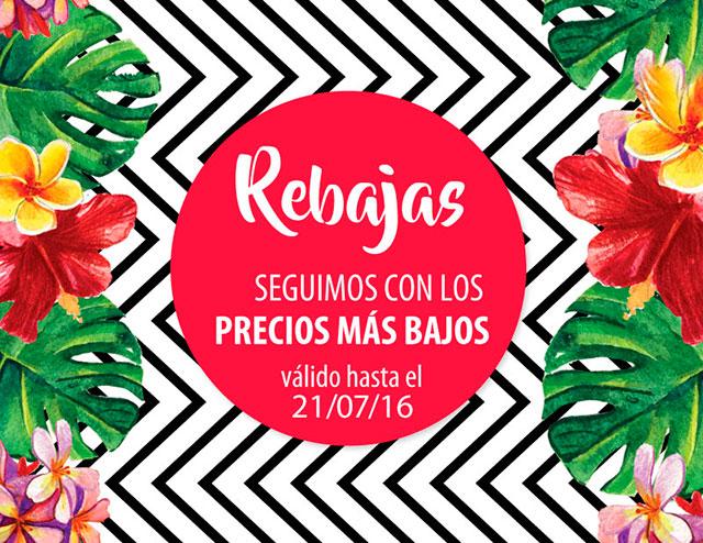 REBAJAS - Seguimos con los precios MÁS BAJOS